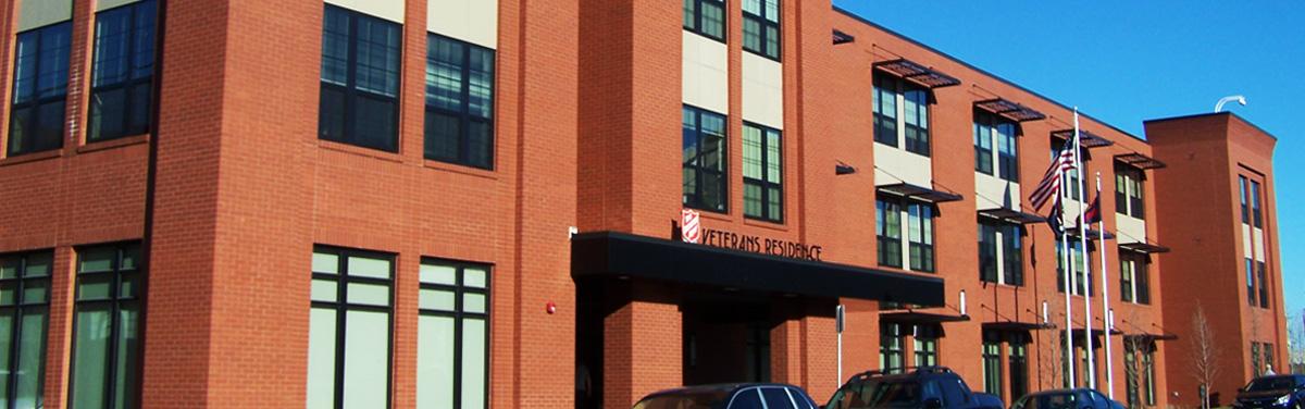 Building exterior in St. Louis, Missouri