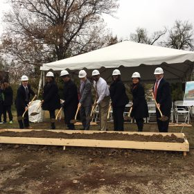 Groundbreaking Event, Nov. 2017